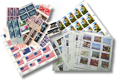 We buy us and foreign mint stamps for postage!